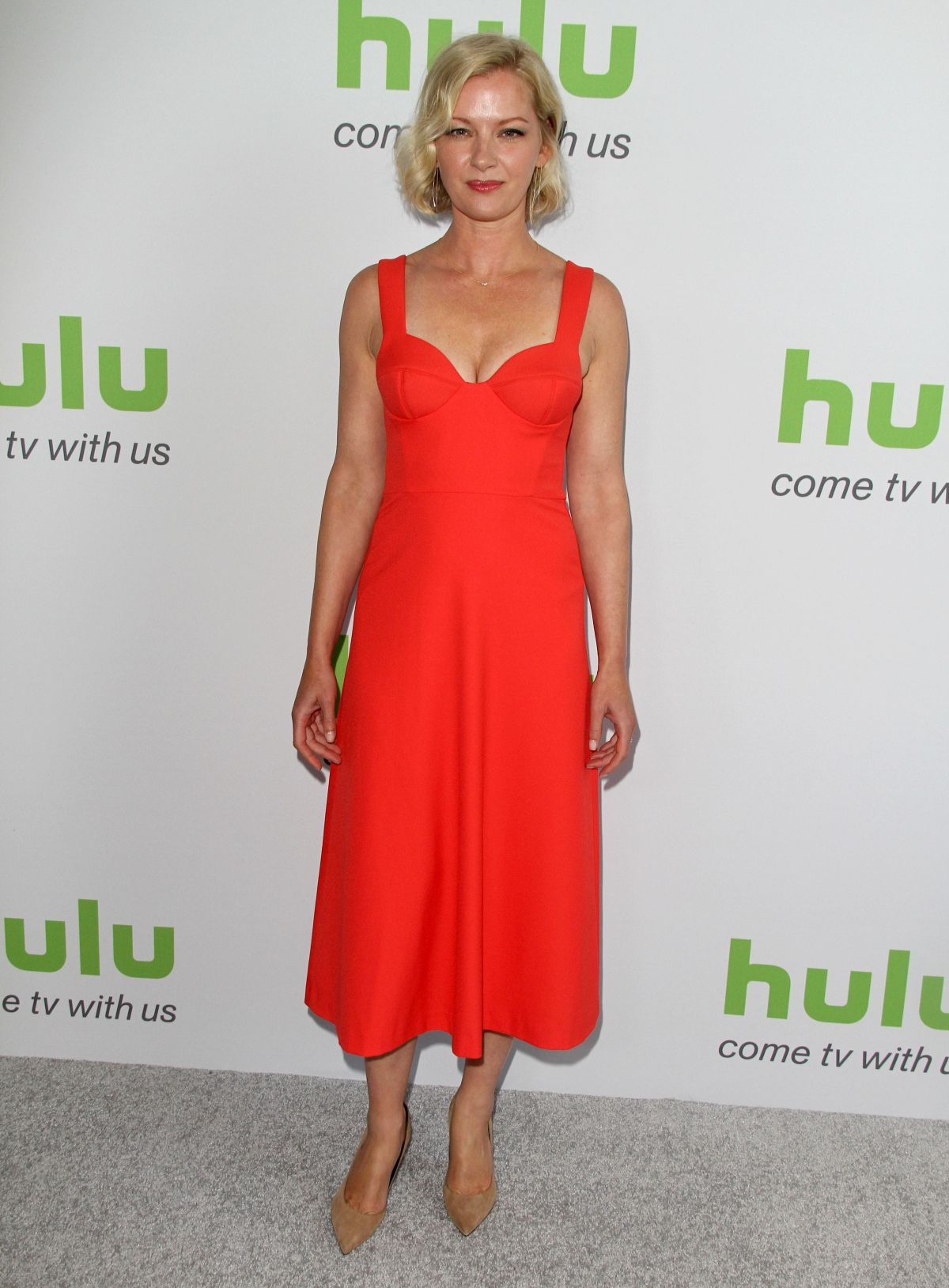 GRETCHEN MOL at Hulu Press Line at TCA Summer 2016 in Beverly Hills