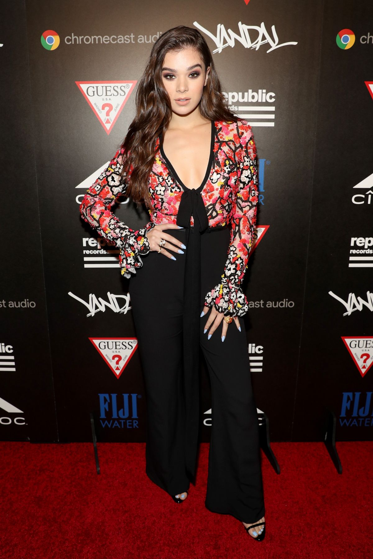 HAILEE STEINFELD at 2016 MTV VMA Republic Records Afterparty in New York 08/28/2016
