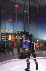 HAILEE STEINFELD at IFLY-Houston in Houston 07/29/2016