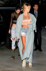 HAILEY BALDWIN and KENDALL JENNER Arrives at Adele Concert in Los Angeles 08/06/2016