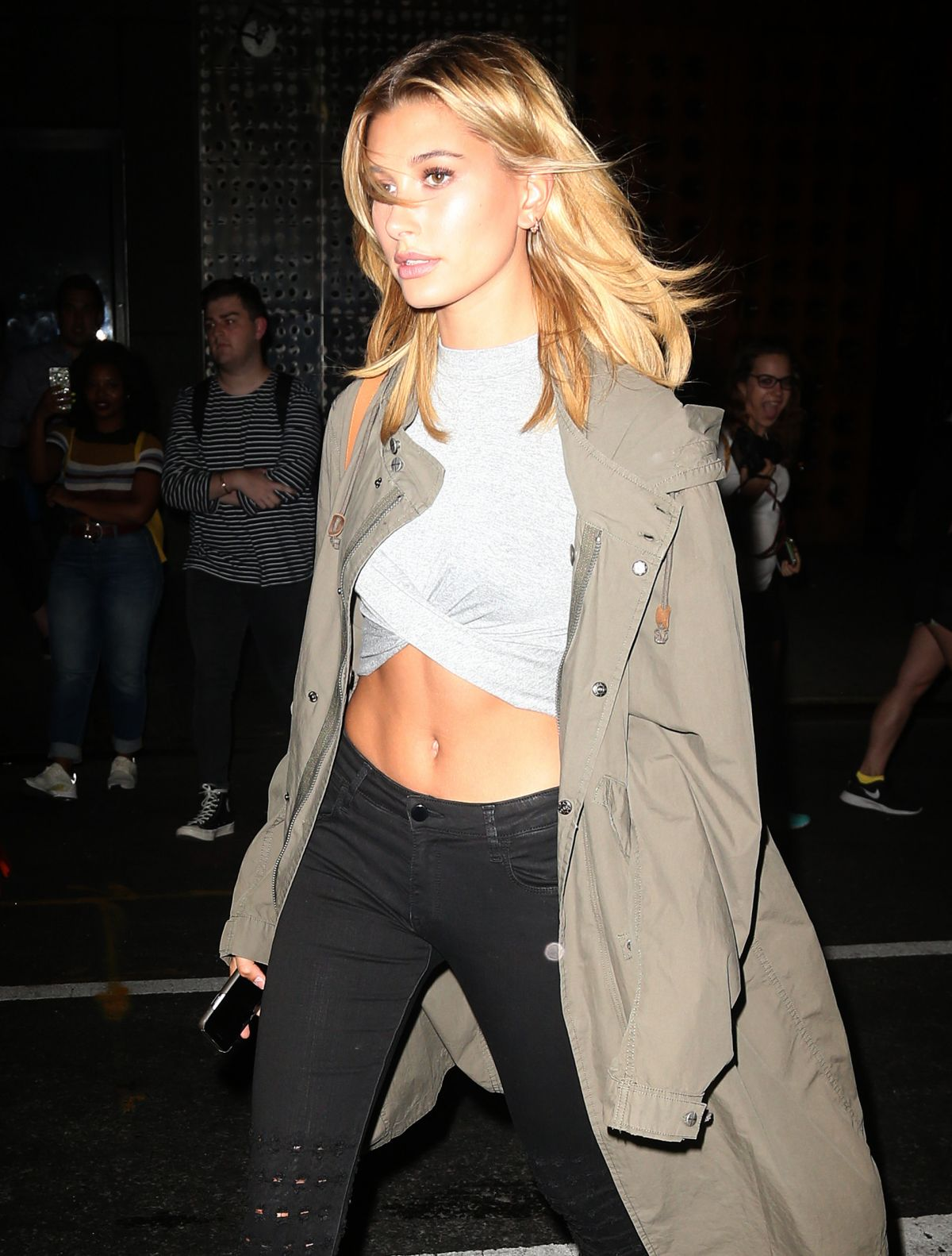 HAILEY BALDWIN Night Out in New York 08/23/2016