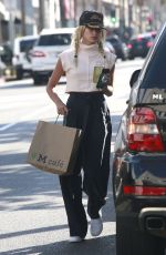 HAILEY BALDWIN Out and About in West Hollywood 08/06/2016
