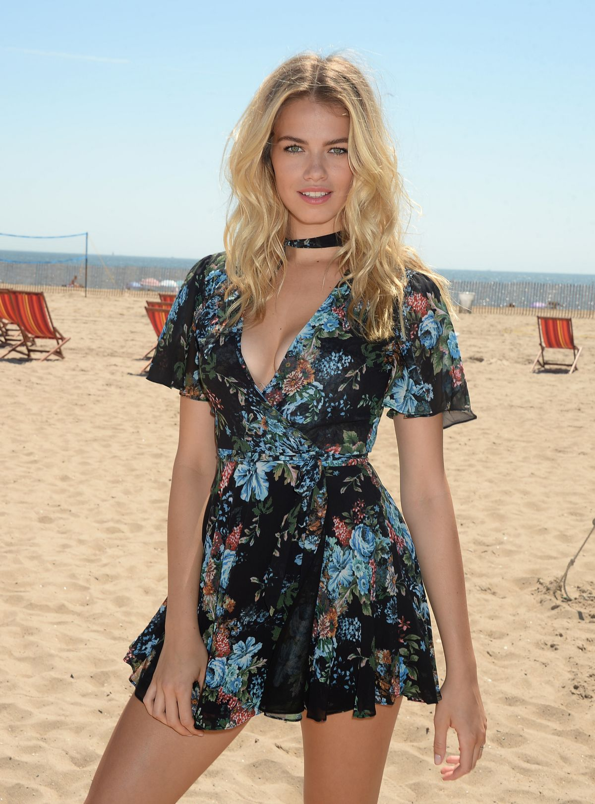 HAILEY CLAUSON at Sports Illustrated Summer of Swim Fan Festival at Coney Island 08/28/2016