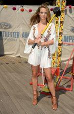 HANNAH FERGUSON at Sports Illustrated Summer of Swim Fan Festival at Coney Island 08/28/2016