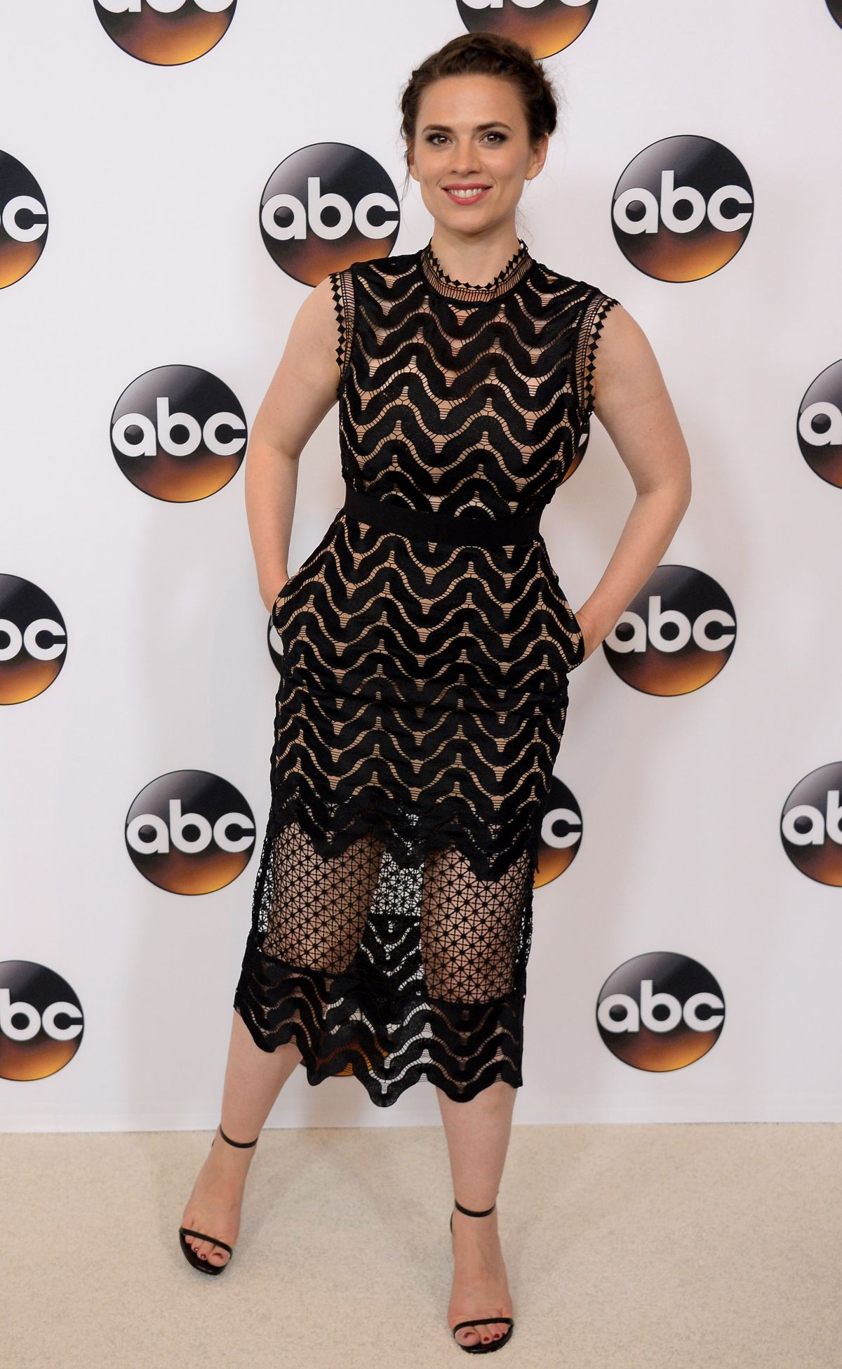 HAYLEY ARWELL at Disney/ABC Television TCA Summer Press Tour in Beverly Hills 08/04/2016