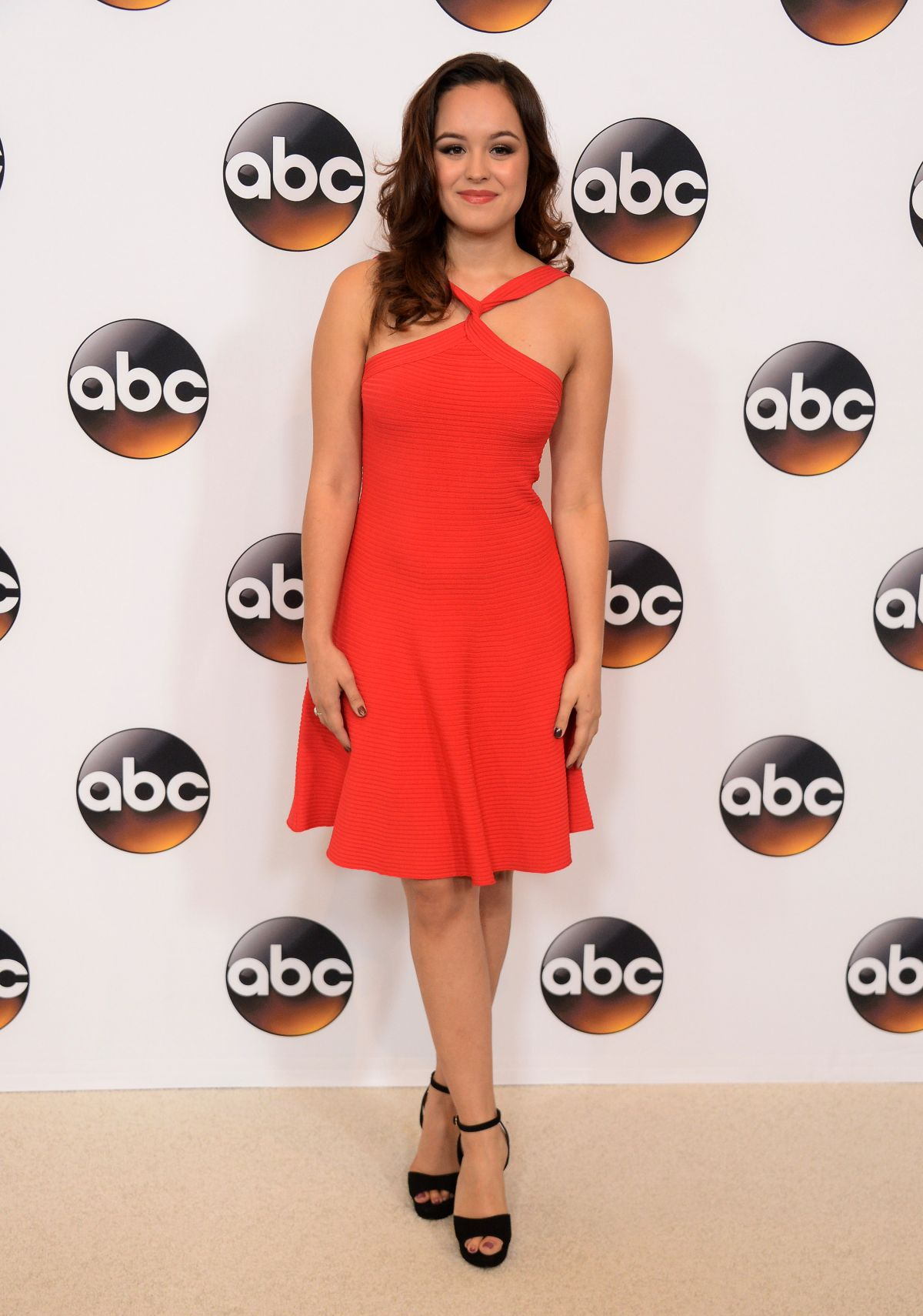 HAYLEY ORRANTIA at Disney/ABC Television TCA Summer Press Tour in Beverly Hills 08/04/2016