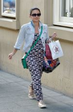 HAYLEY TAMADDON Arrives at a Theatre in Newcastle 08/05/2016