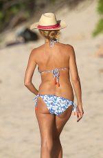 HEIDI KLUM in Bikini at a Beach in Caribbean 08/07/2016
