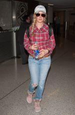 HEIDI MONTAG at Los Angeles International Airport 08/28/2016