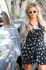 HOLLY MADISON Out and About in Los Angeles 08/26/2016