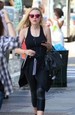DAKOTA FANNING Out and About in New York 08/15/2016