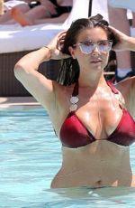 IMOGEN THOMAS in Bikini at a Pool in Las Vegas 08/23/2016