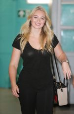 ISKRA LAWRENCE at ITV Studios in London 08/12/2016