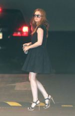 ISLA FISHER Out and About in Beverly Hills 08/19/2016