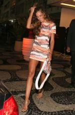 IZABEL GOULAR Leaves Her Hotel in Rio de Janeiro 08/12/2016