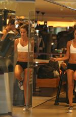 IZABEL GOULART in Shorts and Tank Top at a Gym in Rio De Janeiro 08/20/2016