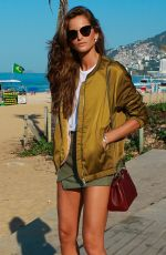 IZABEL GOULART Out and About in Rio De Janeiro 08/05/2016