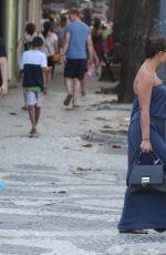 IZABEL GOULART  Out at Ipanema in Rio De Janeiro 08/06/2016