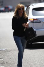 JACLYN SMITH Out and About in Beverly Hills 08/08/2016