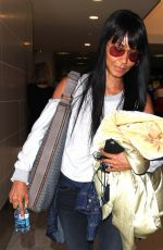 JADA PINKETT SMITH at LAX Airport in Los Angeles 08/25/2016