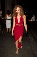 JADE THIRLWALL Leaves Steam and Rye in London 08/13/2016