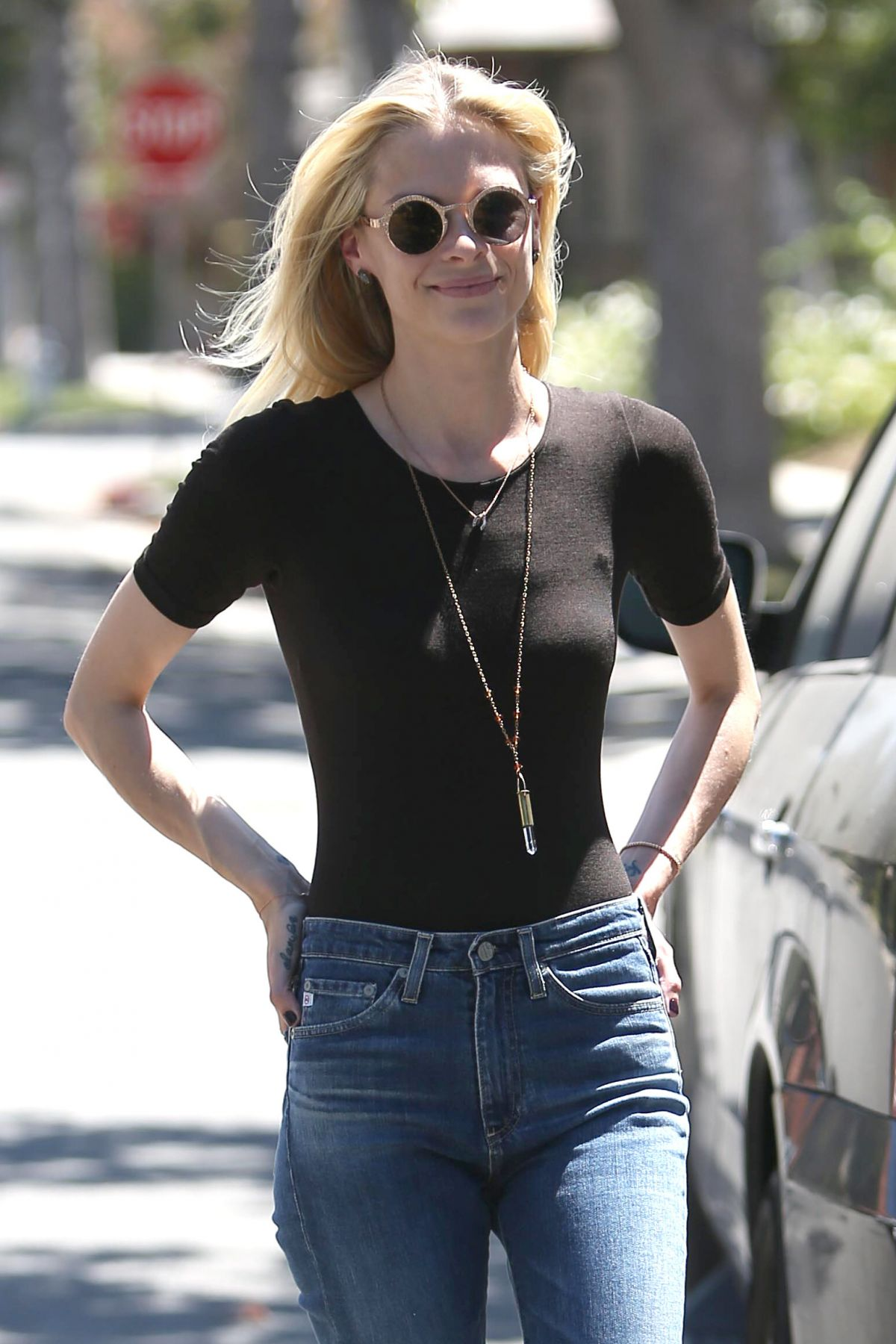 JAIME KING Out in Beverly Hills 08/15/2016