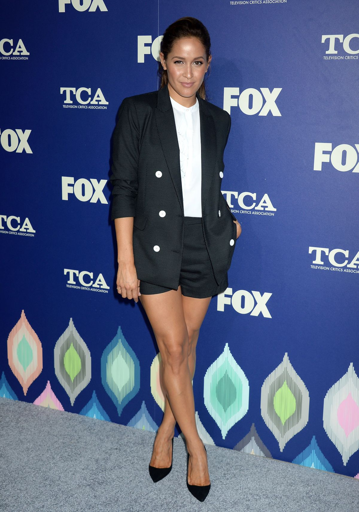 JAINA LEE ORTIZ at Fox Summer TCA All-star Party in West Hollywood 08/08/2016