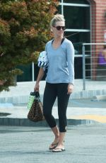 JANUARY JONES Out and About in Los Angeles 08/28/2016