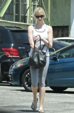 JANUARY JONES Out in West Hollywood 08/01/2016