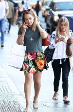 JEMIMA KIRKE Out and About in New York 08/23/2016