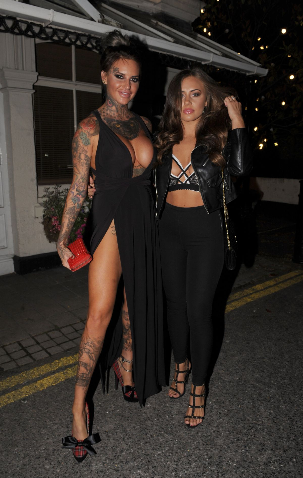 JEMMA LUCY and ASHLEIGH DEFTY at Viper Room in London 08/14/2016