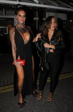 JEMMA LUCY and ASHLEIGH DEFFTY at Viper Room in London 08/14/2016