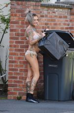 JEMMA LUCY Putting Out Rubbish 08/21/2016