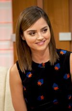 JENNA LOUISE COLEMAN on the Set of