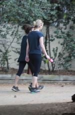 JENNIFER LAWRENCE Out Hiking in Los Angeles 08/28/2016