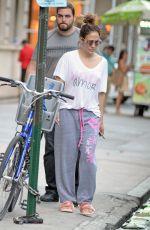 JENNIFER LOPEZ Leaves Her Apartment in New York 08/30/2016