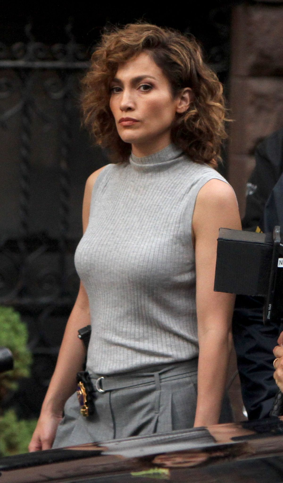 Jennifer Lopez On The Det Of Shades Of Blue In New York