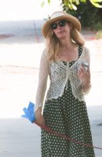 JENNIFER WESTFELDT Out with Her Dog in Los Angeles 08/06/2016