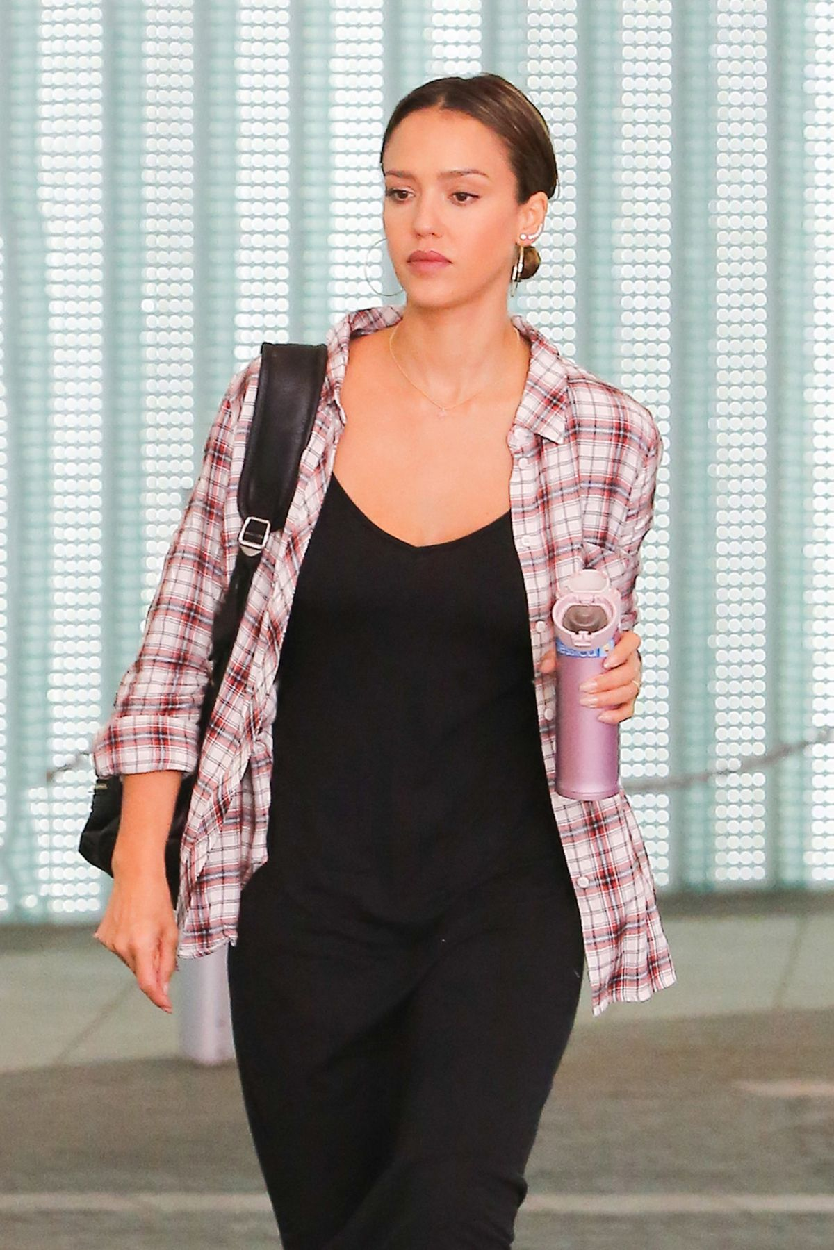 JESSICA ALBA at a Business Meeting at Pacific Design Center in West Hollywood 08/12/2016