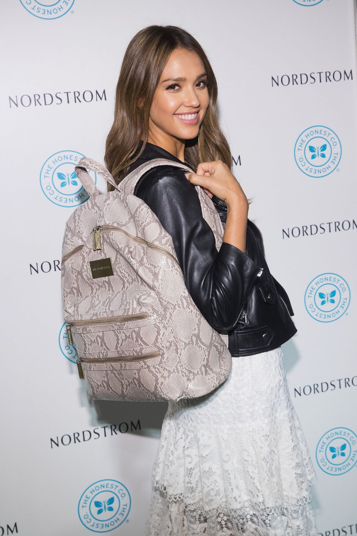 JESSICA ALBA at Honest Company Backpack Launch in Seattle 08/04/2016