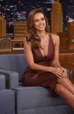 JESSICA ALBA at Tonight Show Starring Jimmy Fallon in New York 08/25/2016