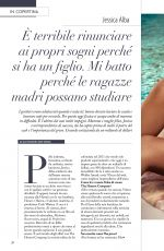 JESSICA ALBA in F Magazine, Italy August 2016