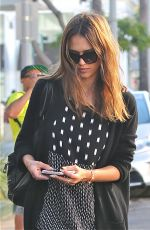 JESSICA ALBA Leaves a Toy Store in Beverly Hills 08/16/2016