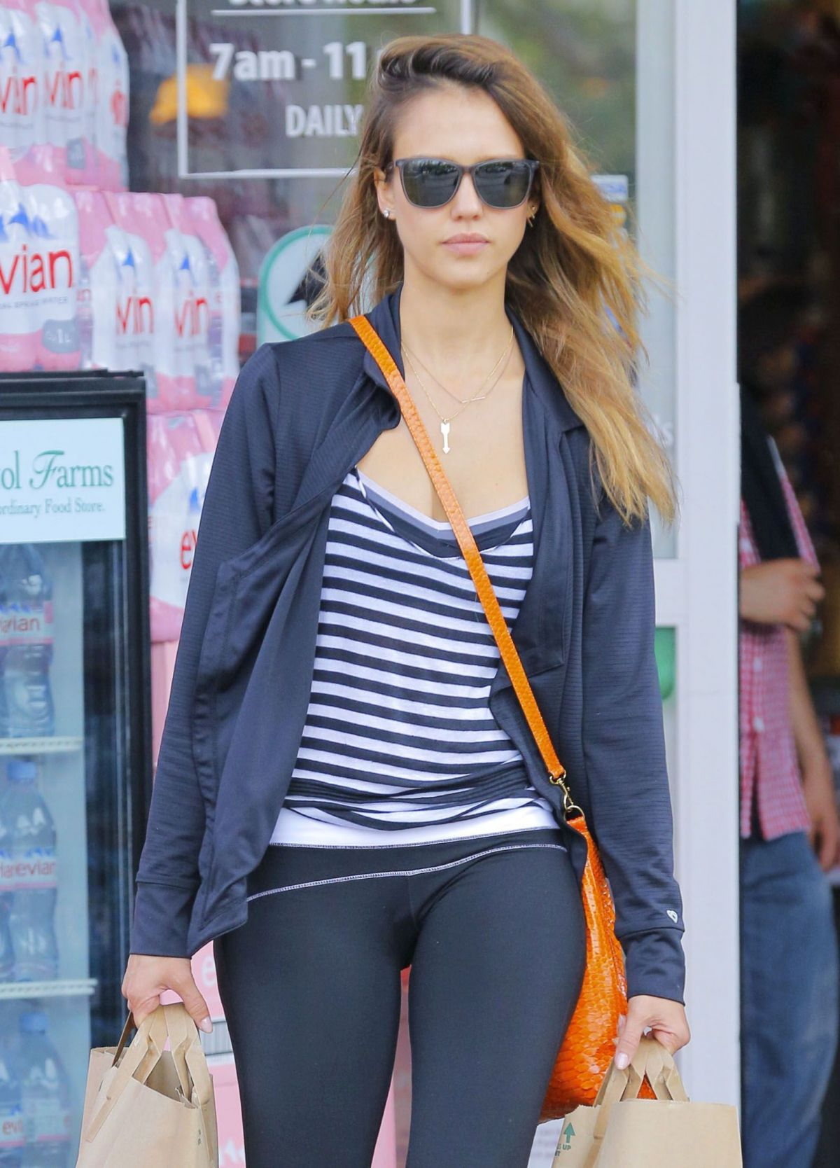 JESSICA ALBA Out Shopping in Beverly Hills 08/10/2016