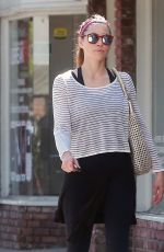 JESSICA BIEL Out and About in Beverly Hills 08/22/2016