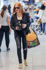 JESSICA CHASTAIN at Montreal–Pierre Elliott Trudeau International Airport 08/03/2016