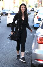 JESSICA LOWNDES Out and About in Beverly Hills 08/02/2016