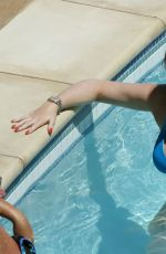 JESSICA WRIGHT in Bikini at a Pool in a Las Vegas 08/14/2016