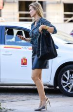 JOANNA KRUPA Out and About in Warsaw 08/09/2016