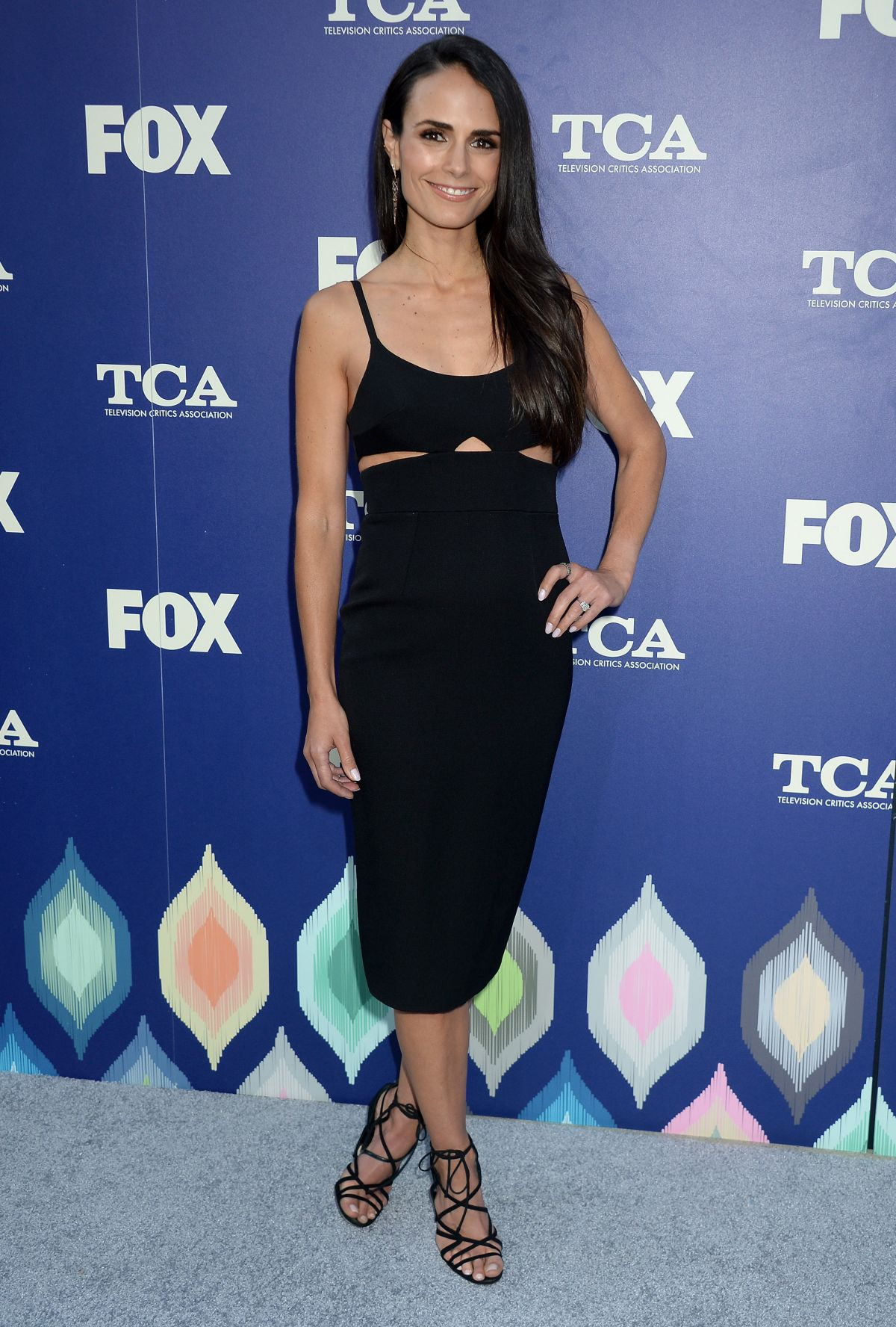 JORDANA BREWSTER at Fox Summer TCA All-star Party in West Hollywood 08/08/2016